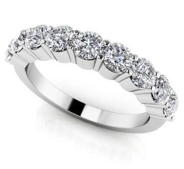 Gleaming Brilliance Diamond Anniversary Ring