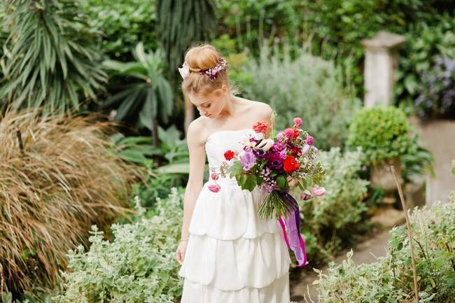 Bridal Style: Bohemian Ballet in the Garden