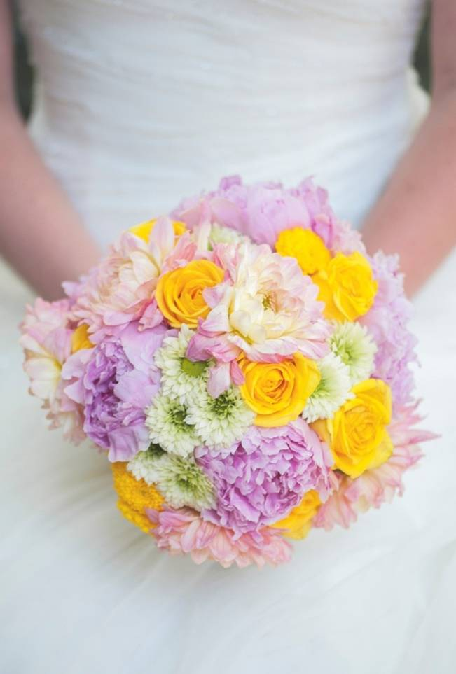 Pink + Yellow Whimsical Country Garden Styled Shoot {L'Estelle Photography} 11