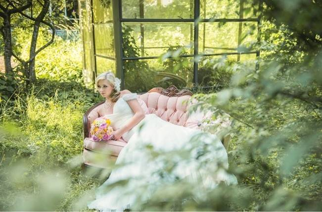 Pink + Yellow Whimsical Country Garden Styled Shoot {L'Estelle Photography} 12