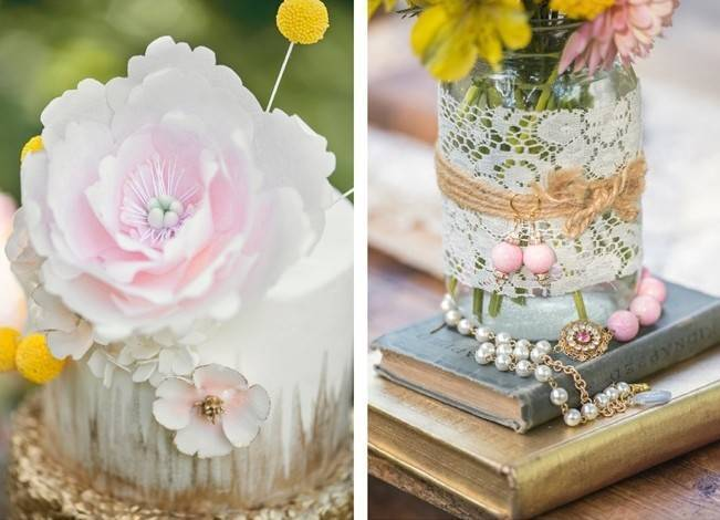 Pink + Yellow Whimsical Country Garden Styled Shoot {L'Estelle Photography} 18