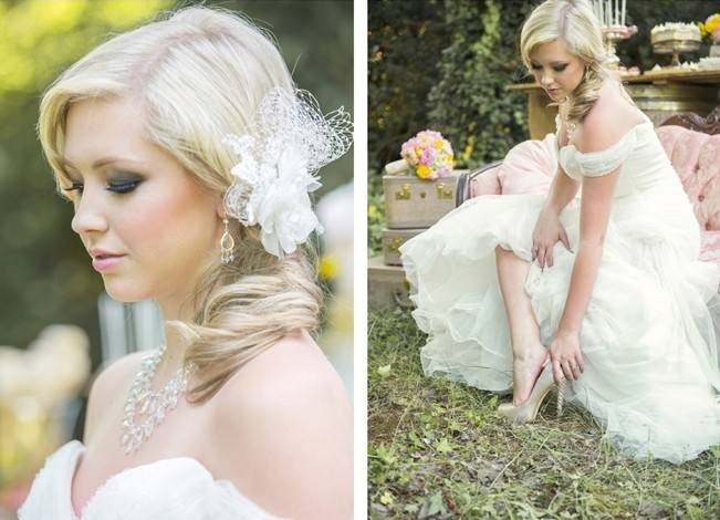 Pink + Yellow Whimsical Country Garden Styled Shoot {L'Estelle Photography} 21