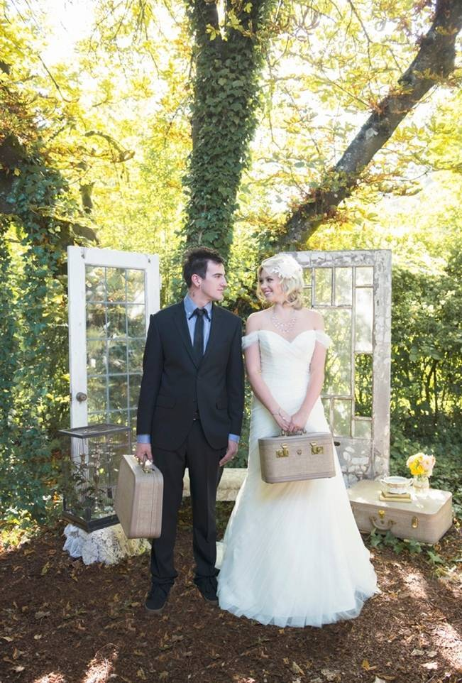Pink + Yellow Whimsical Country Garden Styled Shoot {L'Estelle Photography} 22