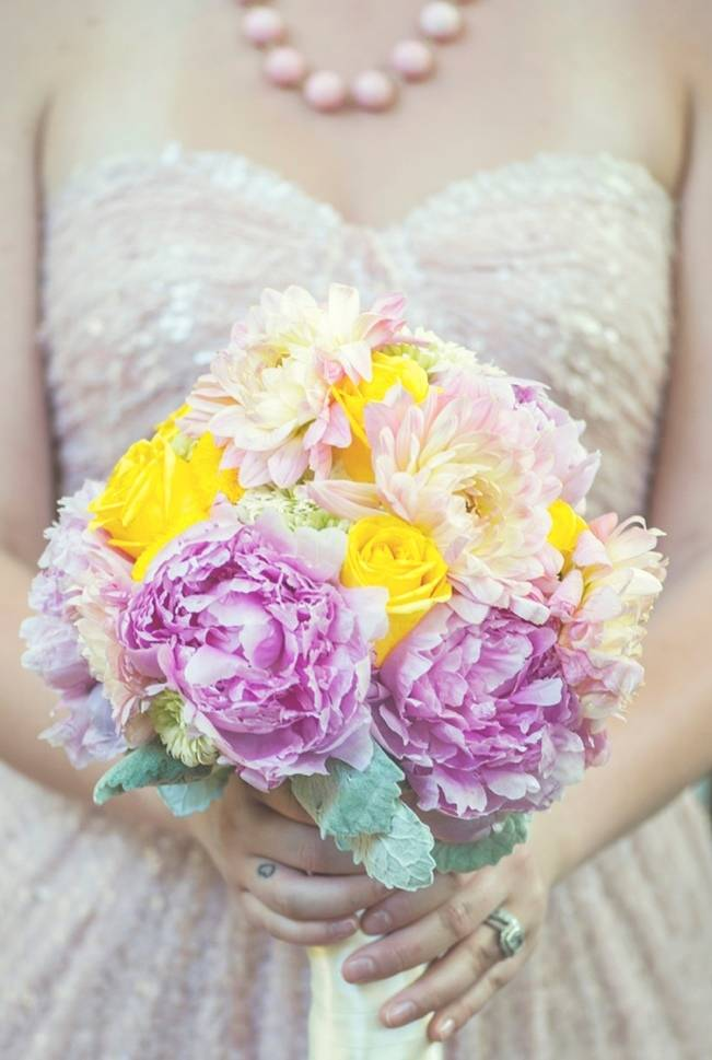 Pink + Yellow Whimsical Country Garden Styled Shoot {L'Estelle Photography} 3