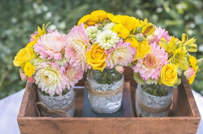 Pink + Yellow Whimsical Country Garden Styled Shoot {L'Estelle Photography} 8