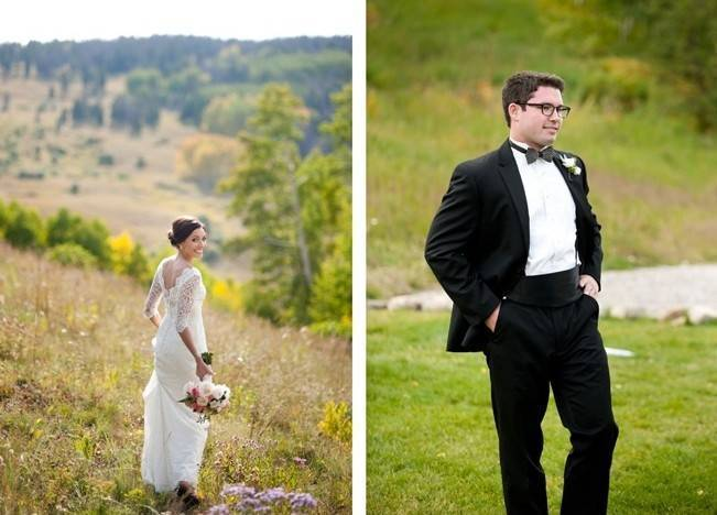 Rustic Beaver Creek Wedding at Beano's Cabin {Brinton Studios} 4