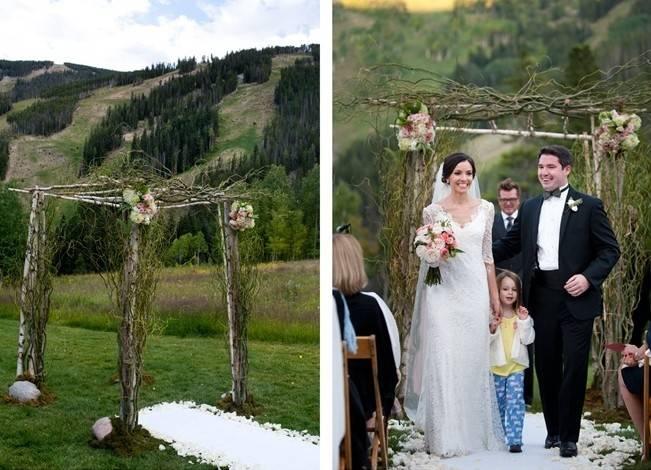 Rustic Beaver Creek Wedding at Beano's Cabin {Brinton Studios} 8