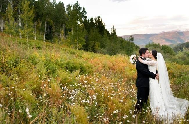 Rustic Beaver Creek Wedding at Beano's Cabin {Brinton Studios} 9