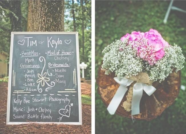 Rustic Lakeside North Carolina Wedding {Kelly Rae Stewart Photography} 2