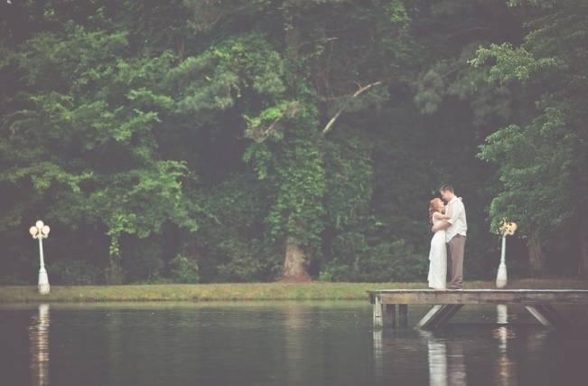 Rustic Lakeside North Carolina Wedding {Kelly Rae Stewart Photography} 25