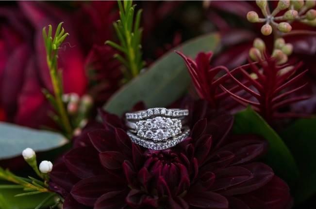 Rustic Merlot and Blush Rocky Mountain Wedding Inspiration 15