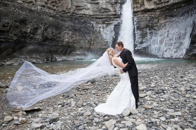 Rustic Merlot and Blush Rocky Mountain Wedding Inspiration 17