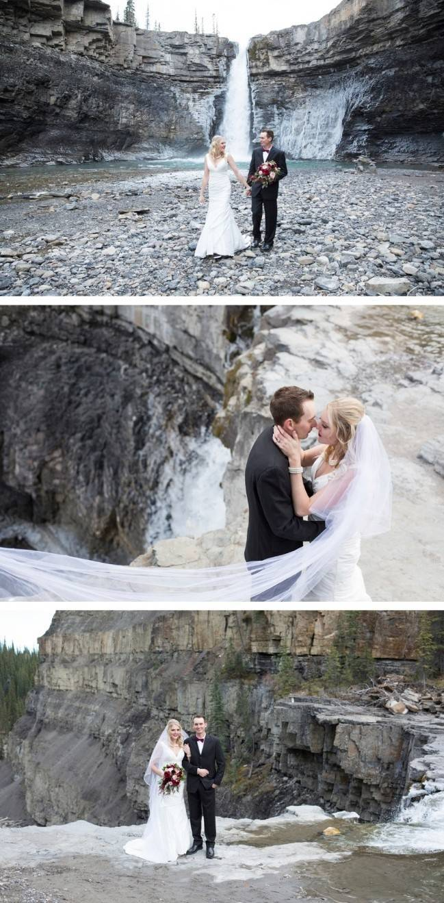 Rustic Merlot and Blush Rocky Mountain Wedding Inspiration 19