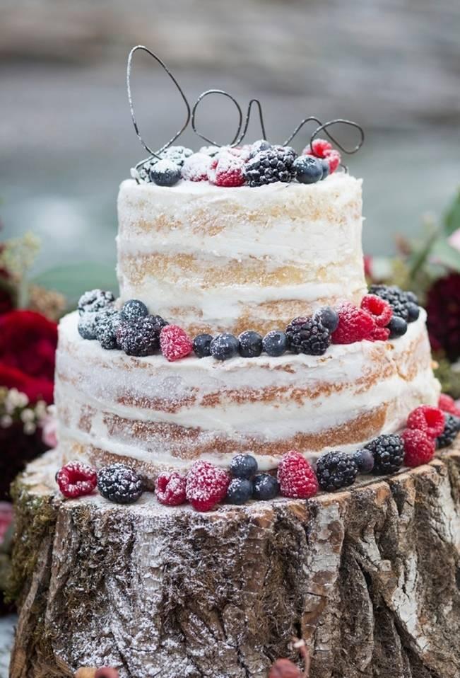 Rustic Merlot and Blush Rocky Mountain Wedding Inspiration 9