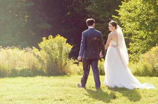 Woodsy Purple New Hampshire Wedding {Erika Follansbee Photography} 12