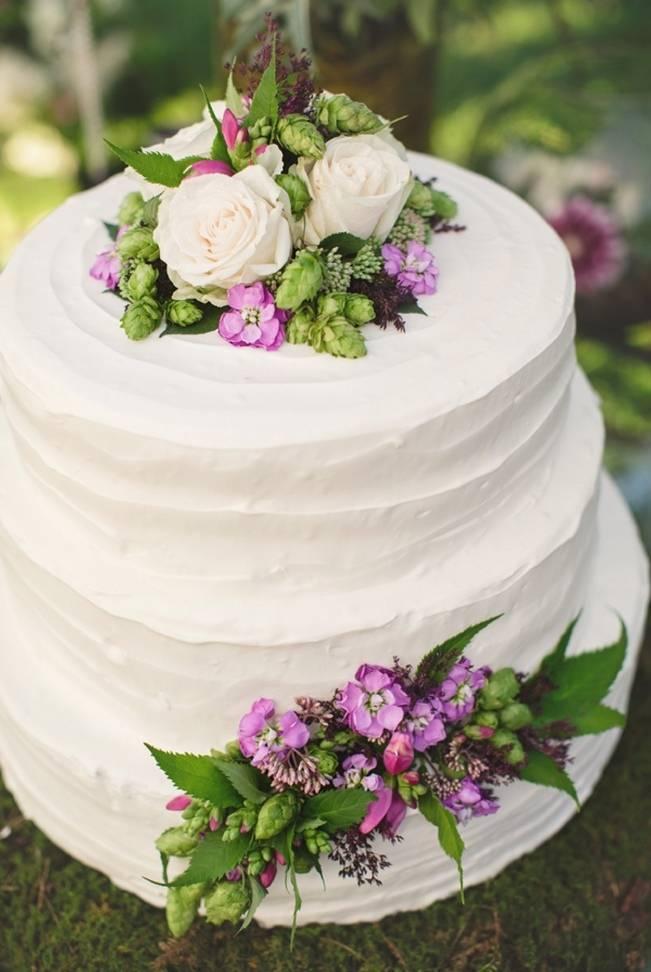 Woodsy Purple New Hampshire Wedding {Erika Follansbee Photography} 18