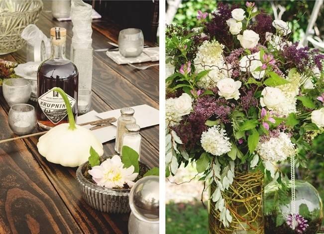 Woodsy Purple New Hampshire Wedding {Erika Follansbee Photography} 19