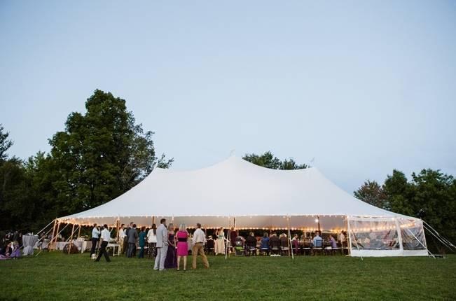 Woodsy Purple New Hampshire Wedding {Erika Follansbee Photography} 24