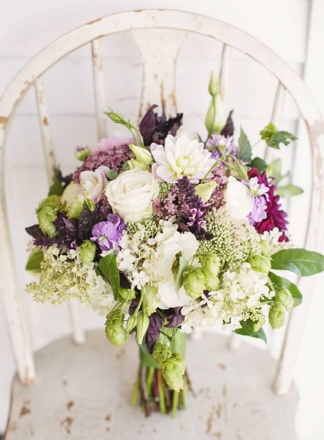 Woodsy Purple New Hampshire Wedding {Erika Follansbee Photography} 3