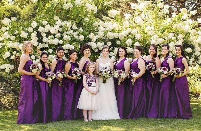 Woodsy Purple New Hampshire Wedding {Erika Follansbee Photography} 5