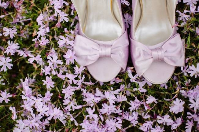 Lilac + Lace Country Chic Wedding Inspiration {The Light + Color} 1