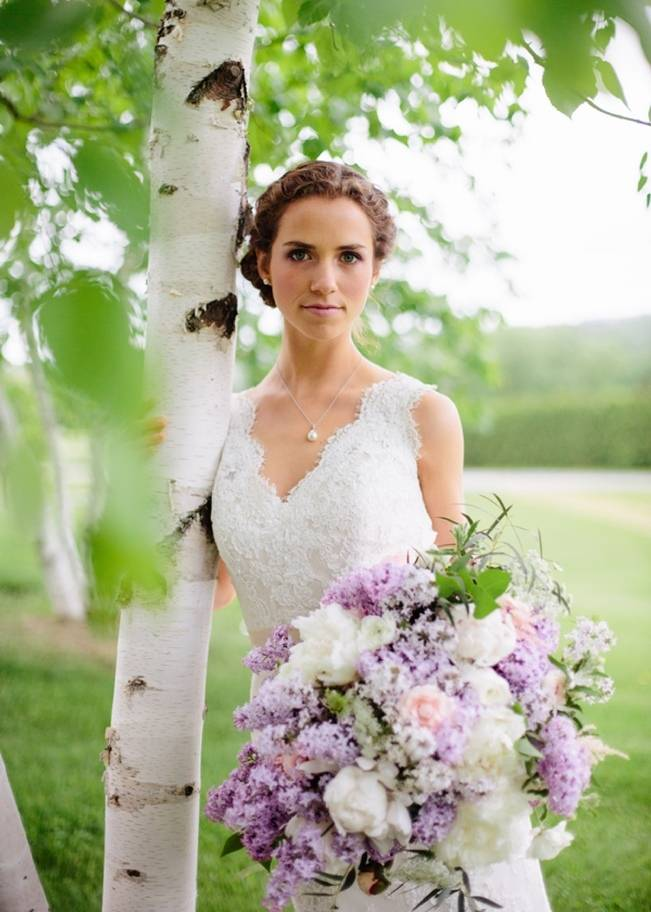 Lilac + Lace Country Chic Wedding Inspiration {The Light + Color} 4