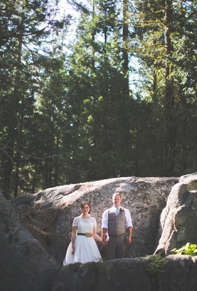 Rustic Sequoia National Park Wedding at {Carly Short Photography} 14