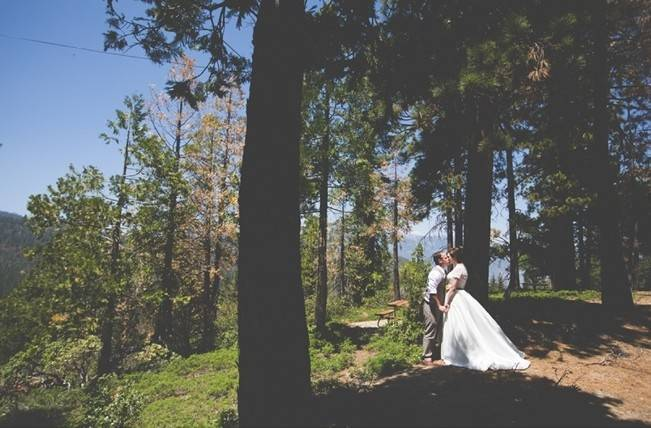 Rustic Sequoia National Park Wedding at {Carly Short Photography} 6