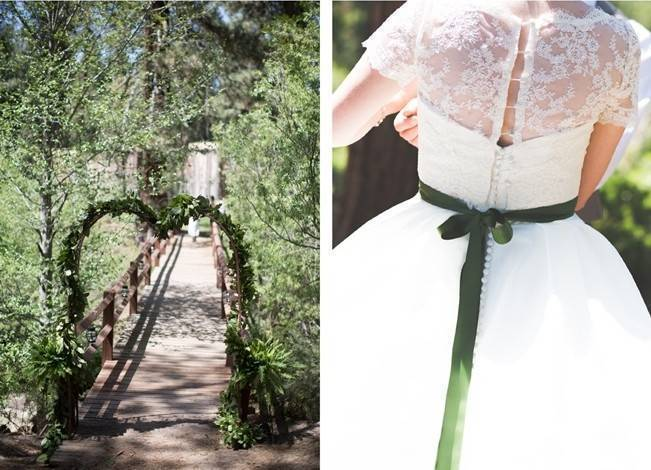 Rustic Sequoia National Park Wedding at {Carly Short Photography} 7