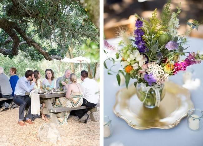 Simple California Picnic in the Park Wedding {Heidi Sandoval Photography} 20