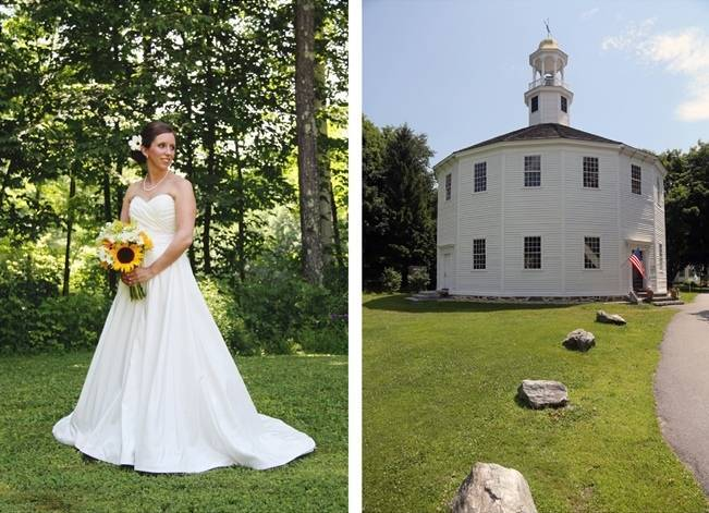 Vermont Rustic Chic Sunflower Wedding {Floor Three Photography} 3