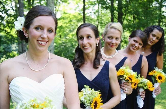 Vermont Rustic Chic Sunflower Wedding {Floor Three Photography} 5