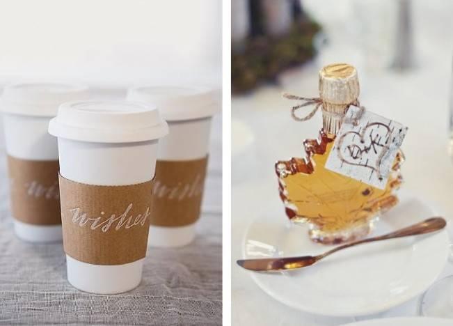 Winter Wedding Favor Ideas 2