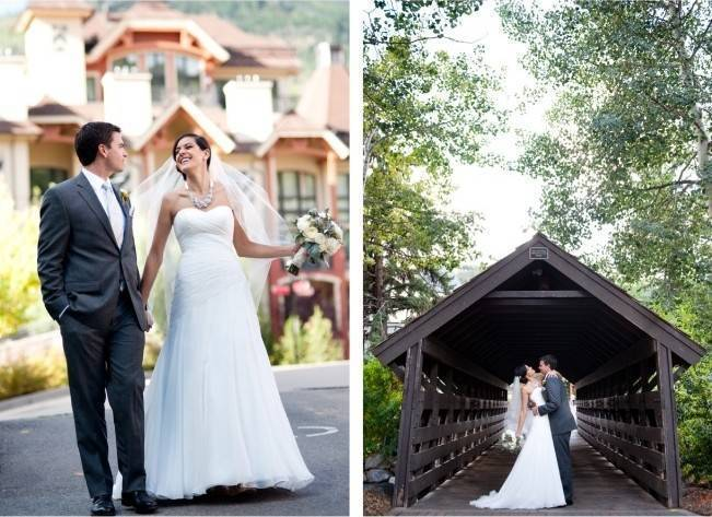 Yellow + Gray Mountain Wedding in Vail, Colorado {Brinton Studios} 13