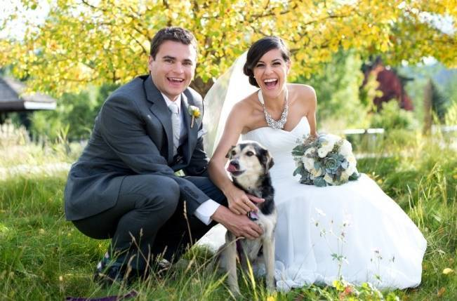 Yellow + Gray Mountain Wedding in Vail, Colorado {Brinton Studios} 14