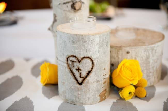 Yellow + Gray Mountain Wedding in Vail, Colorado {Brinton Studios} 16