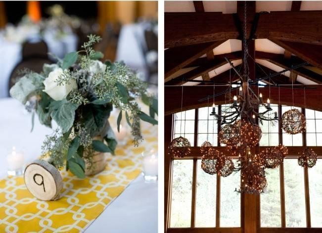 Yellow + Gray Mountain Wedding in Vail, Colorado {Brinton Studios} 17