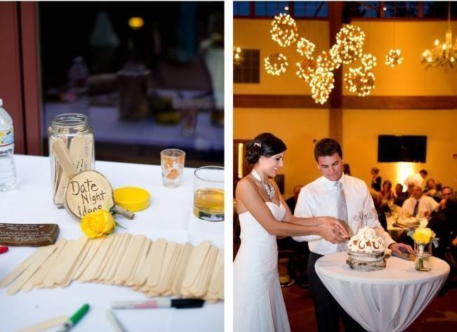 Yellow + Gray Mountain Wedding in Vail, Colorado {Brinton Studios} 21