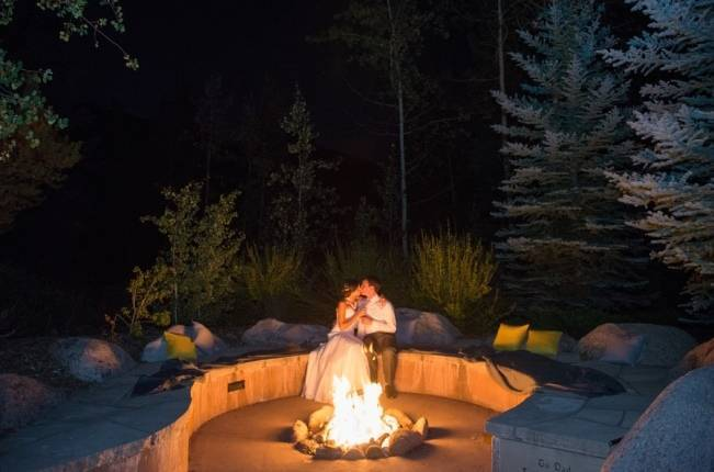 Yellow + Gray Mountain Wedding in Vail, Colorado {Brinton Studios} 22