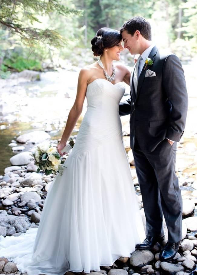 Yellow + Gray Mountain Wedding in Vail, Colorado {Brinton Studios} 4
