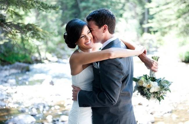 Yellow + Gray Mountain Wedding in Vail, Colorado {Brinton Studios} 5