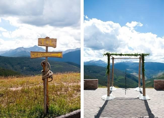 Yellow + Gray Mountain Wedding in Vail, Colorado {Brinton Studios} 6