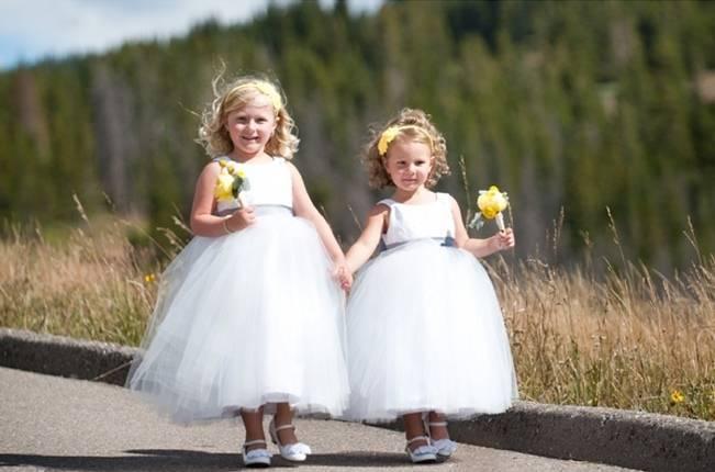 Yellow + Gray Mountain Wedding in Vail, Colorado {Brinton Studios} 7