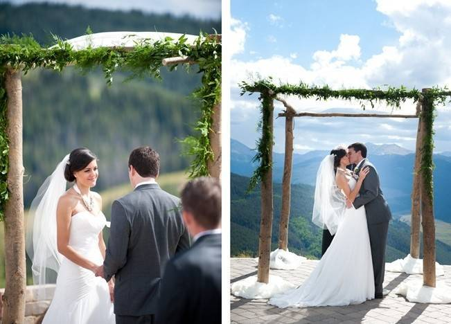 Yellow + Gray Mountain Wedding in Vail, Colorado {Brinton Studios} 8