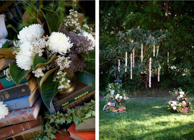 Backyard Vintage Boho Wedding {Christina O'Brien Photography} 10