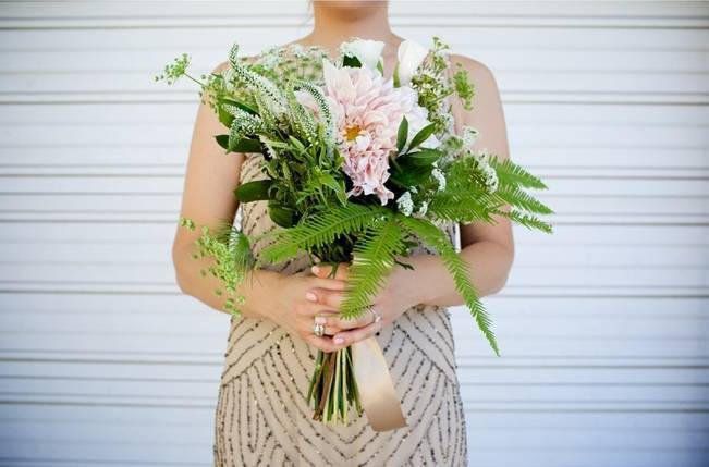 Backyard Vintage Boho Wedding {Christina O'Brien Photography} 8