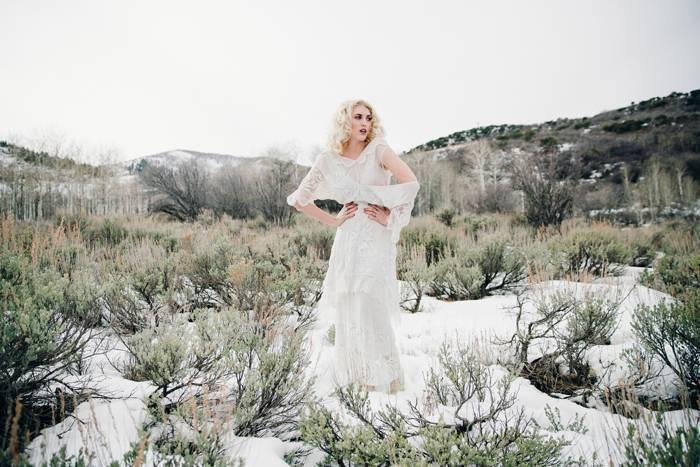Nature Meets Vintage Bridal Inspiration – Lacy Dresses Vintage Co + Whynaught Shop 1