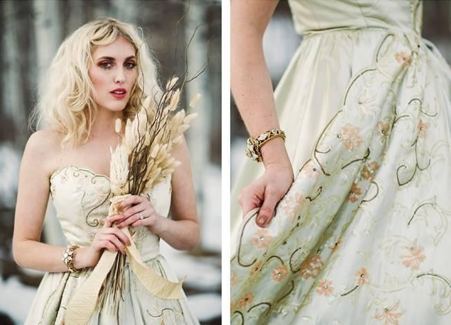 Nature Meets Vintage Bridal Inspiration – Lacy Dresses Vintage Co + Whynaught Shop 14
