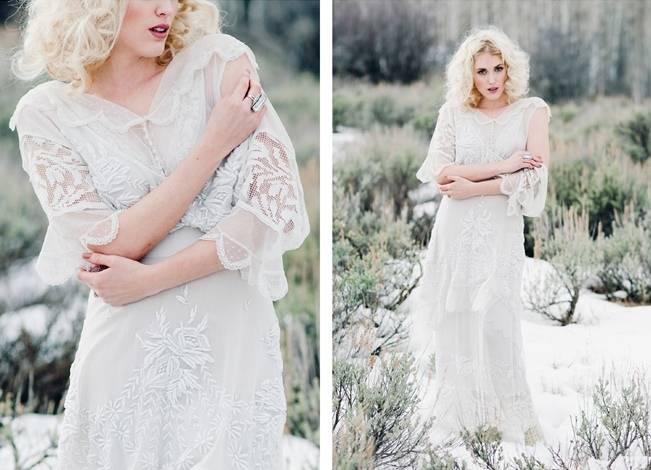 Nature Meets Vintage Bridal Inspiration – Lacy Dresses Vintage Co + Whynaught Shop 2