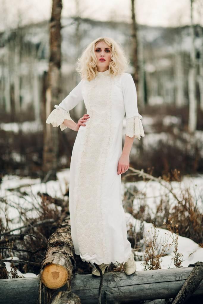 Nature Meets Vintage Bridal Inspiration – Lacy Dresses Vintage Co + Whynaught Shop 20